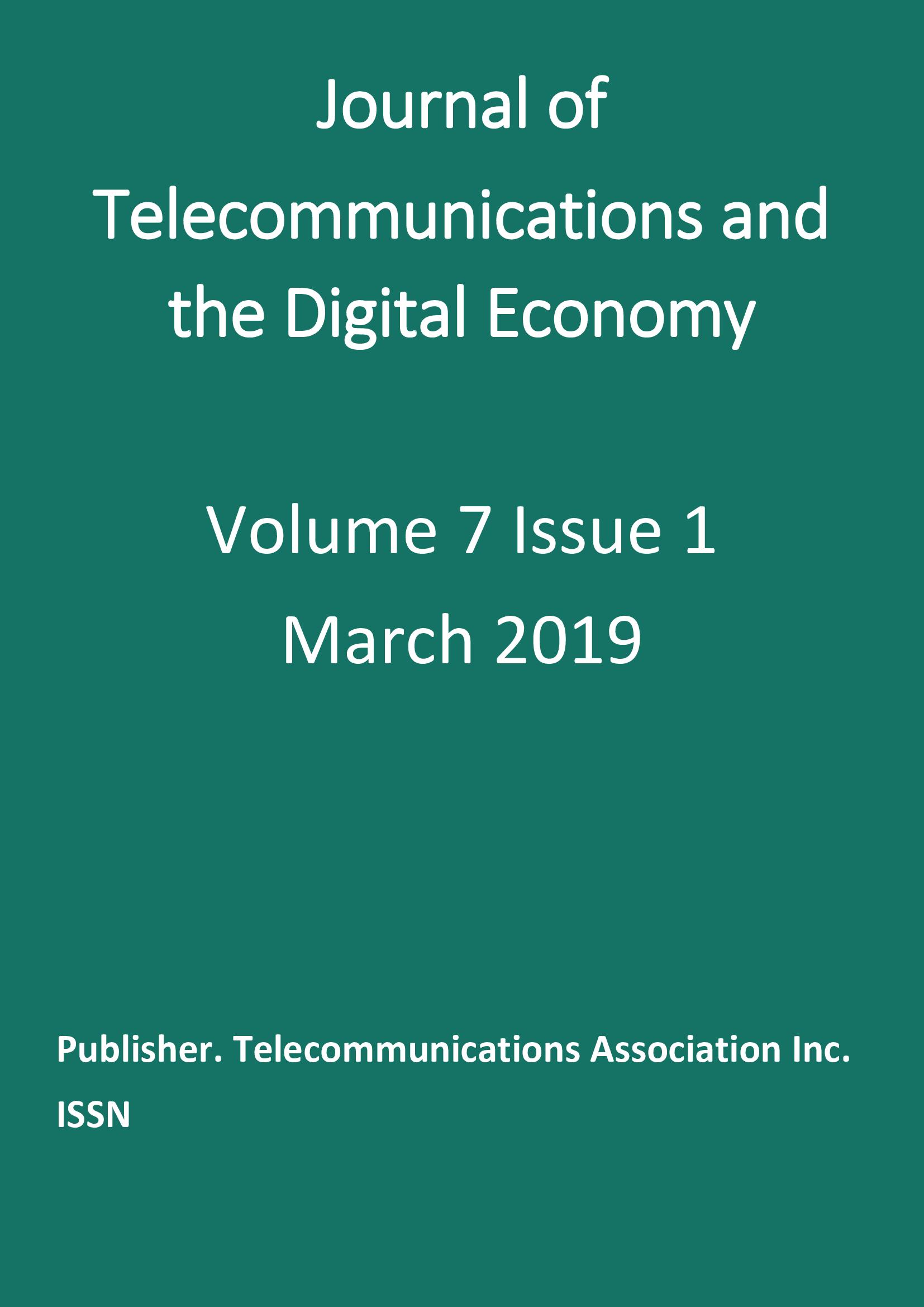 Vol. 7, No. 1 (2019)