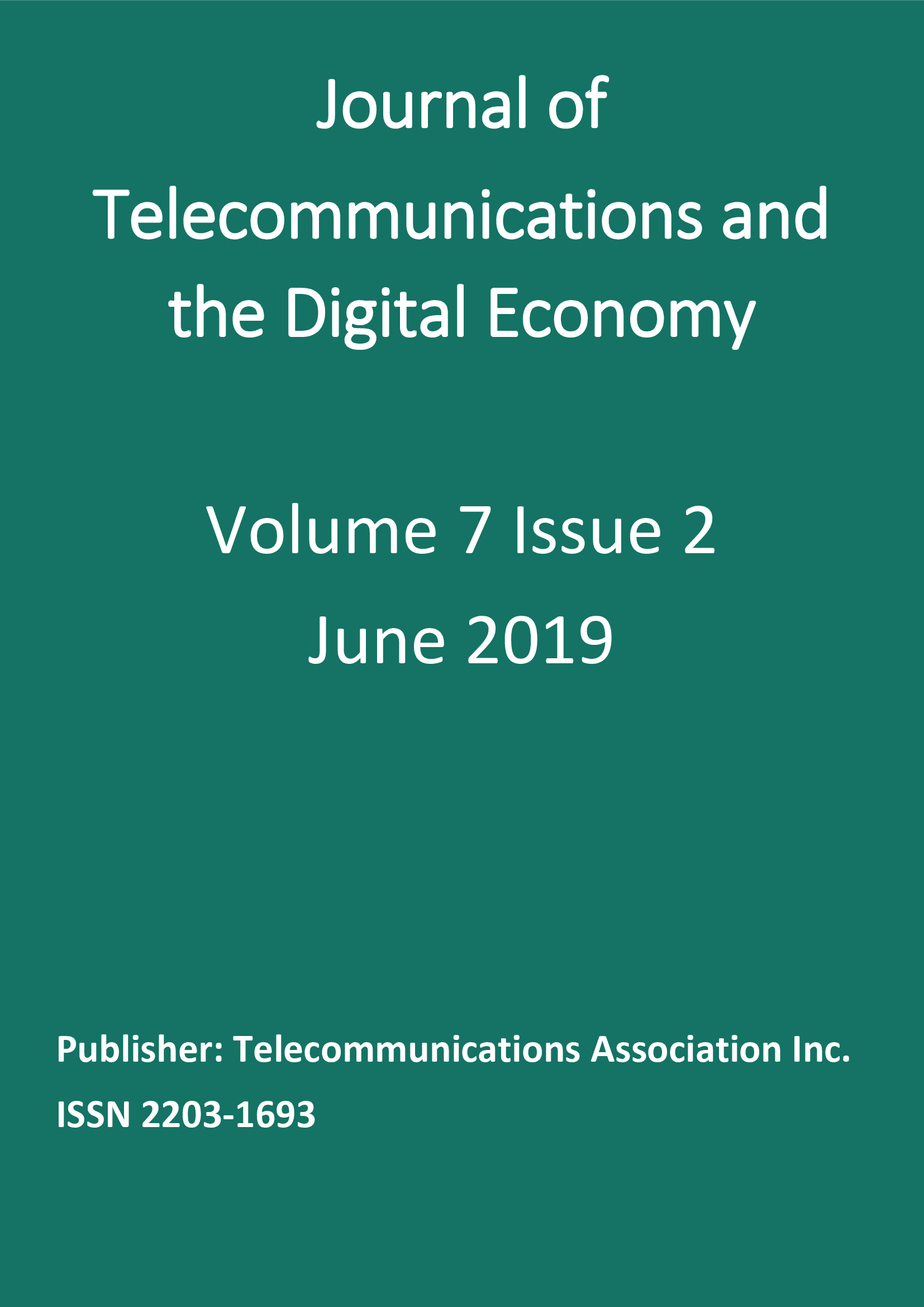 Vol. 7, No. 2 (2019)