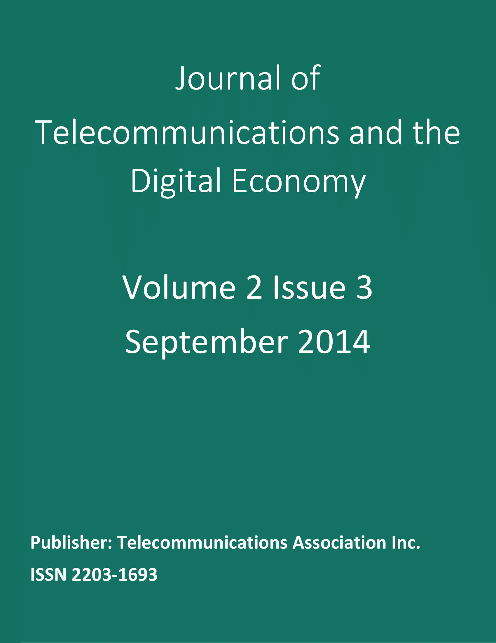 Vol. 2, No. 3 (2014)