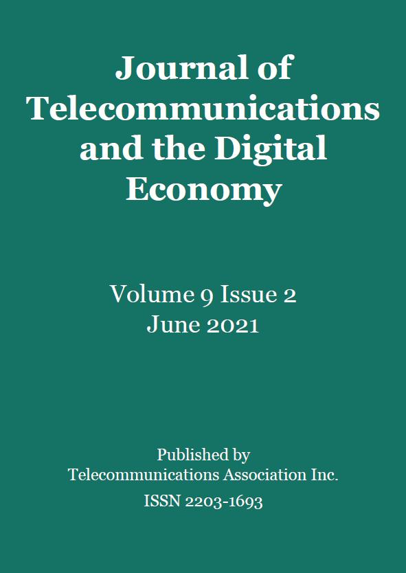JTDE vol. 9, no. 2, June 2021