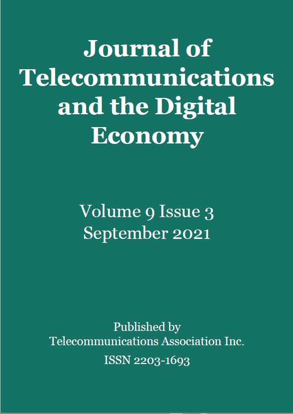 JTDE Cover, September 2021